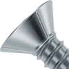 Ribbed Countersunk Head