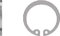 Internal Circlip 32mm Diameter Un-Sprung