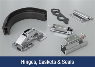 Hinges, Gaskets and Seals
