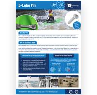 5 lobe pin flyer