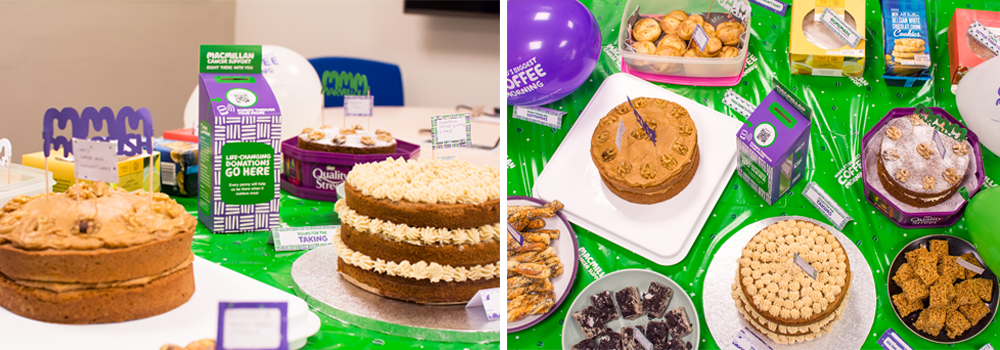 Header for website macmillan coffee morning