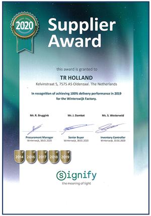 Holland Signify Award 2020