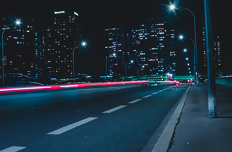 Week 5 home page image   street lights