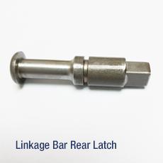 Linkage bar rear latch