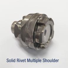 Solid Rivet Multiple Shoulder
