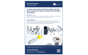 TR Security Fasteners Flyer