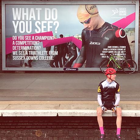 Jamie Bedwell Station billboard