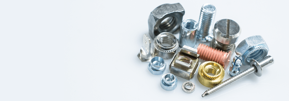 Fasteners for Sheet Metal Header