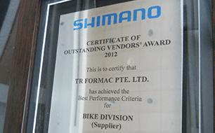 Shimano thumb