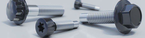 Fasteners with electrically isolating coatings