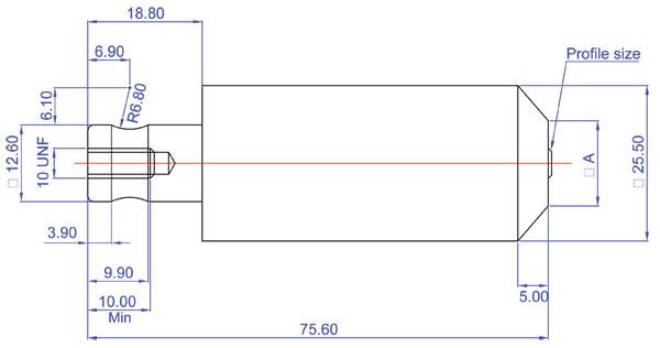 Haeger M6   M12 Punch