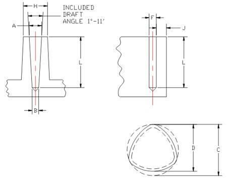 Tap Fix Hole Geometry 1
