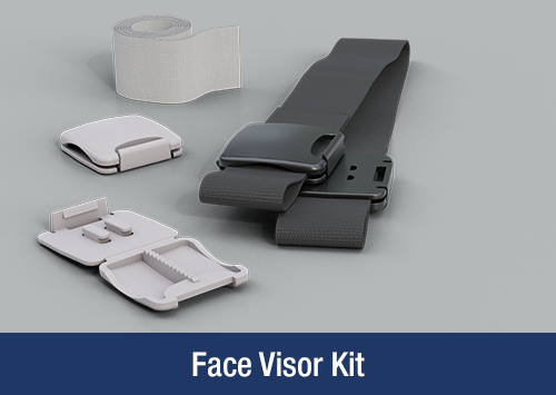 TR Medical Products Face Visor Kit