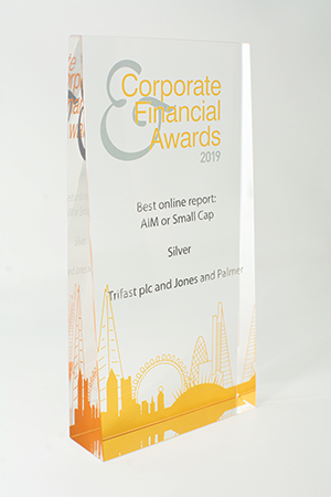Corp and Financial Silver Award
