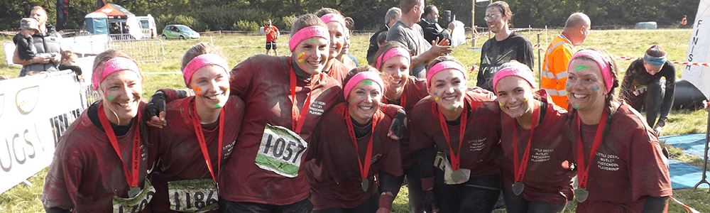 mud run header