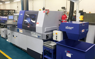 New investment in lathe technology at TR's Hank® manufacturing plant