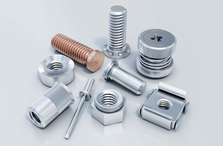 Group image of sheet metal fasteners