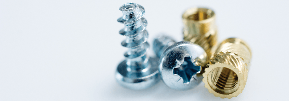 Fasteners for Plastics website header