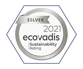 silver medal in recognition of our EcoVadis Sustainability rating