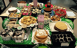Macmillan cake sales Sept 15