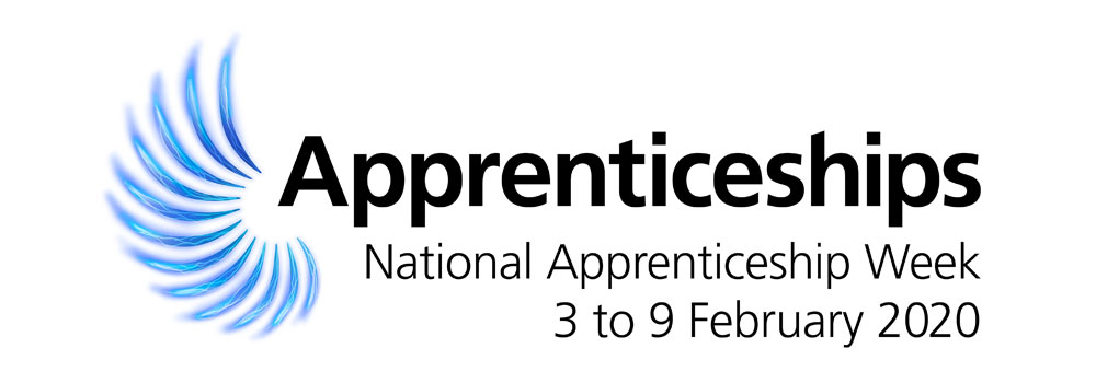 Header Apprenticeship Week logo 2020