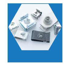 Spring steel fasteners